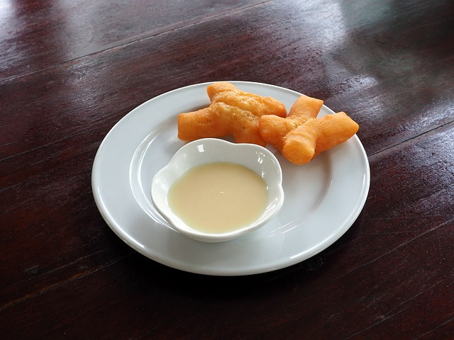 Patongko, Breakfast, Pair, White Plate, Sweets