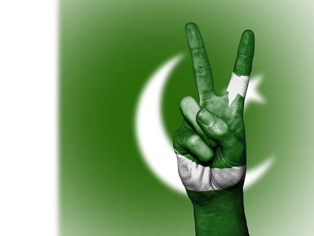 Pakistan, Peace, Hand, Nation, Background, Banner