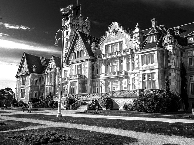 Castle, Palace, Magdalena, Santander, Architecture