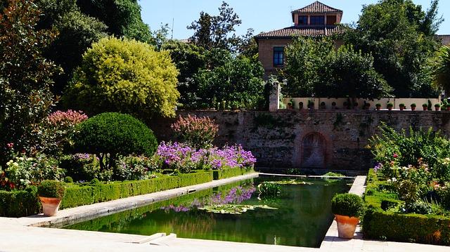 Spain, Granada, Architecture, Andalusia, Palace