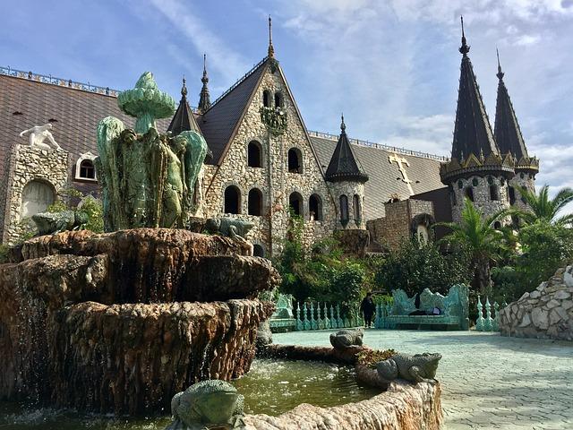 Castle, Bulgaria, Palace, Garden, Architecture, History