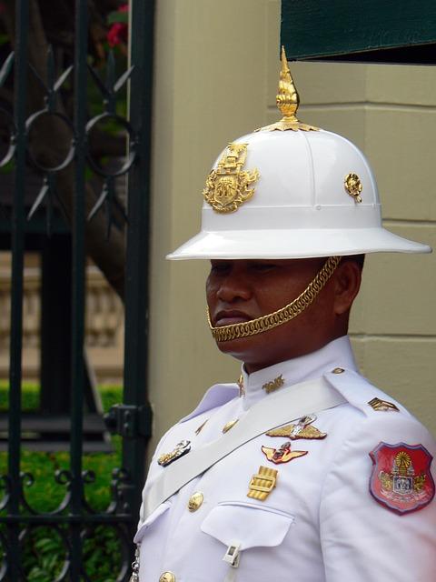 Thailand, Guard, Royal Palace, Uniform, Palace