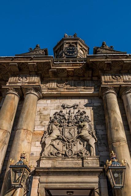Holyrood Palace, Edinburgh, Scotland, Palace