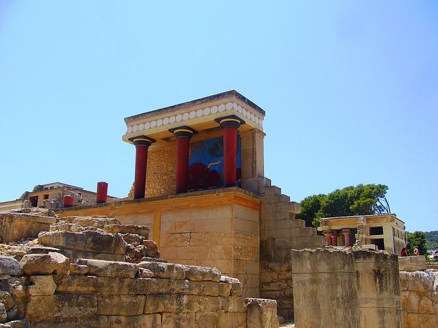 Knossos, Crete, Palace Of Knossos, Minoans