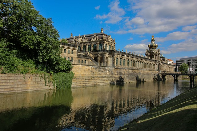 Architecture, Travel, Old, Palace, Building, River