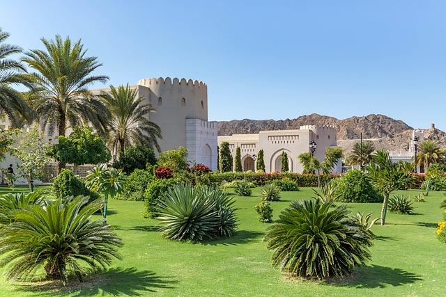 Palace, Sultan, Oman