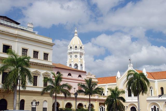 Panama, City Centre, Church, Palace