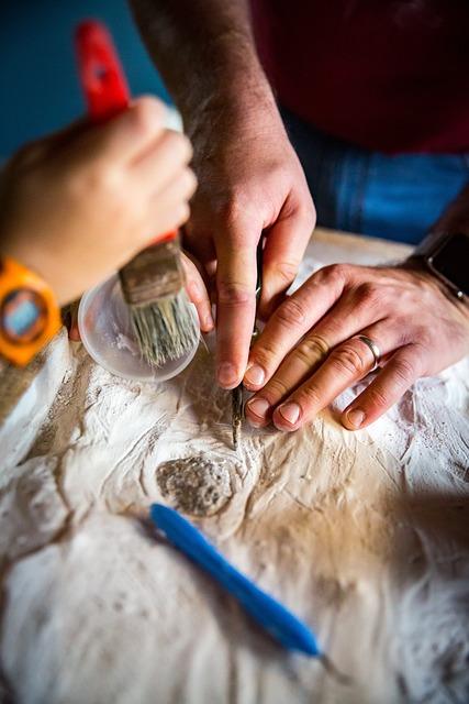 Education, Palaeontology, Dinosaurs, Excavate, Dig