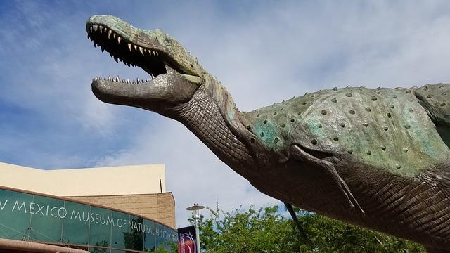 Dinosaur, New, Mexico, Sculpture, Museum, Paleontology