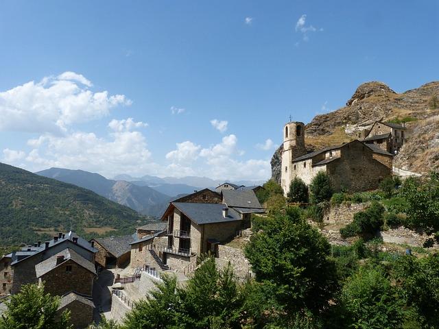 People, Pyrenees Catalan Burg, Pallars Sobirà