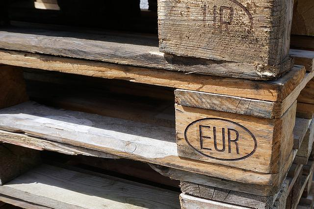 Euro Pallets, Wood, Pallets, Industry, Pattern, Epal