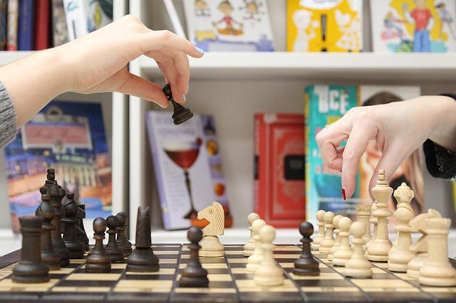 Chess, Hand, Figures, Pawn, Palm, Championship, Cage