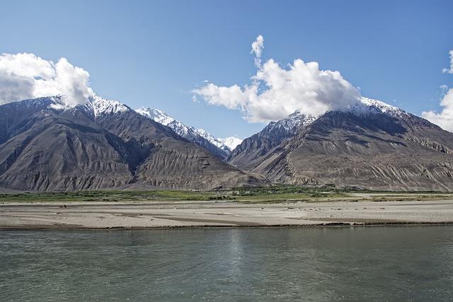 Tajikistan, Pamir, High Mountains, Pandsch Valley