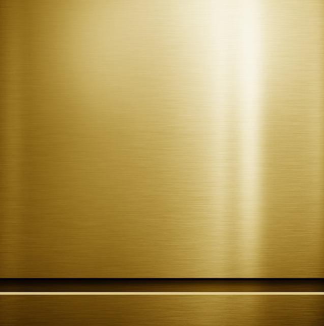 Free Photo Panel Gold Texture Metal