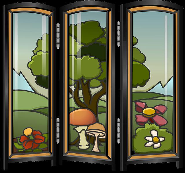 Partition, Room Divider, Screen, Divider, Panels