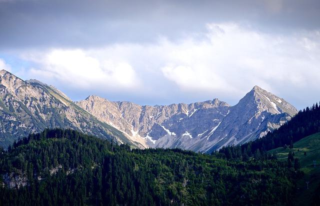 Mountains, Allgäu, Allgäu Alps, Panorama, Landscape