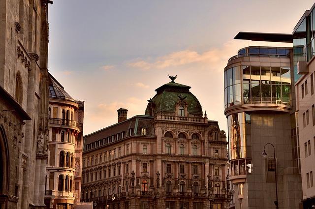 Vienna, Panorama, Austria, Architecture, Building