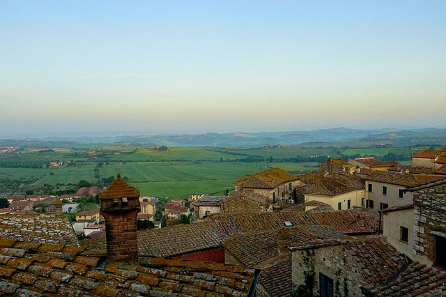 Tuscany, City, Architecture, Travel, Panorama, Hill