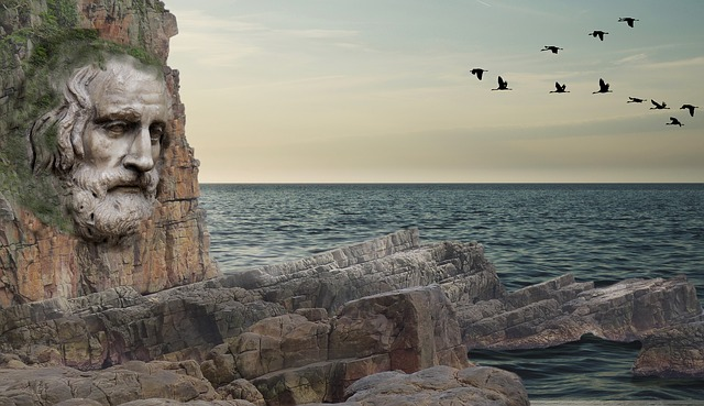 Waters, Rock, Travel, Sky, Panorama, Coast, Landscape