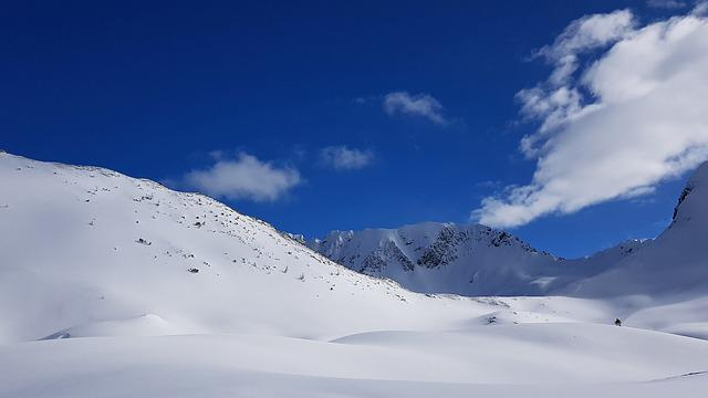 Snow, Winter, Mountain, Panorama, Cold, Snow Landscape