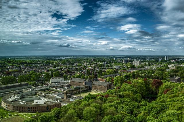 Groningen, City, View, Cityscape, Panorama, Netherlands