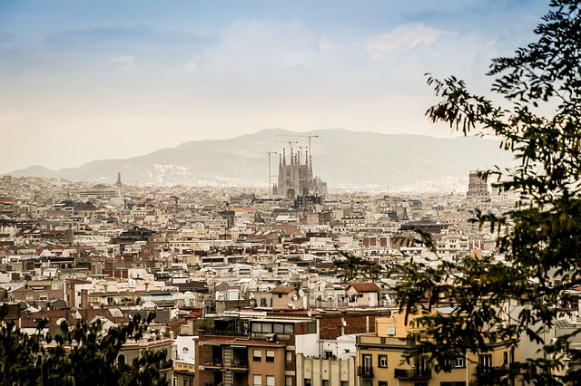 Panorama, The Cathedral, Sagrada Familia, Barcelona
