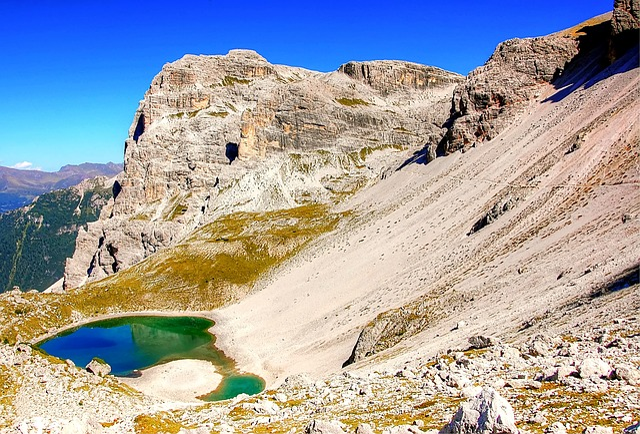 Nature, Landscape, Mountain, Travel, Sky, Panorama