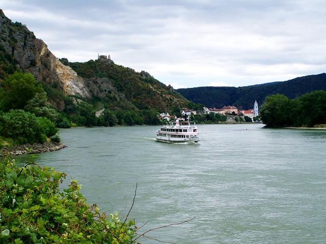 Danube River, Landscape, Panorama, Summer