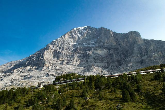 Mountain, Panorama, Nature, Landscape, Travel, Eiger