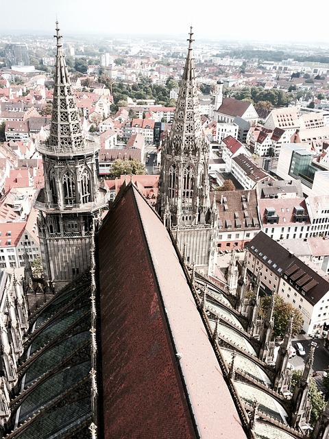 View, Ulm Cathedral, Panorama, Ulm, Outlook, Scenery