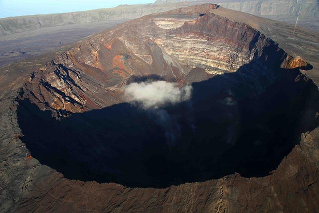 Mouth, Panorama, Panoramic, Volcano, Volcanoes