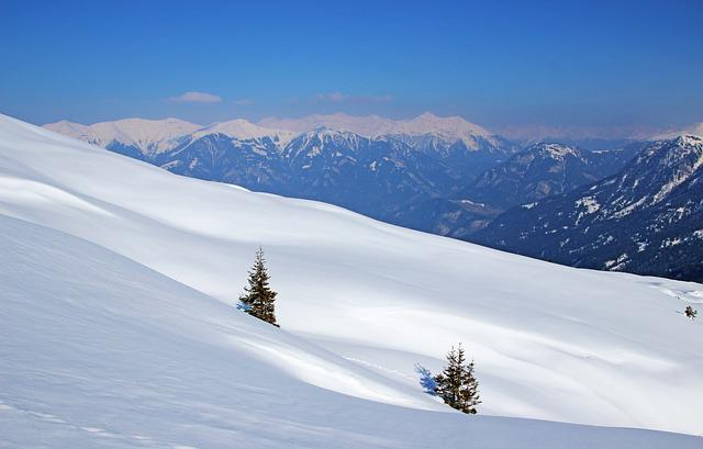 Snow, Winter, Mountain, Cold, Mountain Summit, Panorama