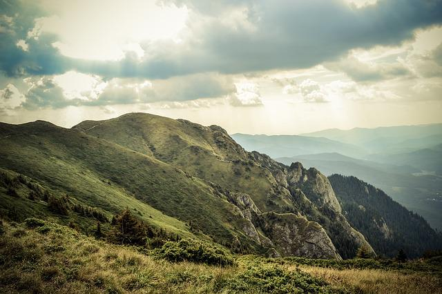 Panoramic, Mountain, Nature, Landscape, Sky, Travel