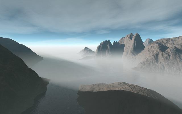 Mist, Fog, Foggy, Misty, Misty Morning, Panoramic