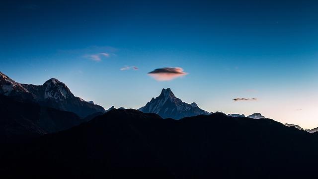 Mountain, Panoramic, Sky, Landscape, Mountain Peak