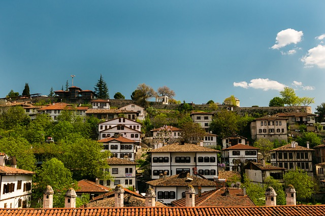 Safranbolu, On, Home, Panoramic, Architecture, City
