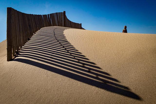 No Person, Desert, Sand, Panoramic, Outdoor, Solitude