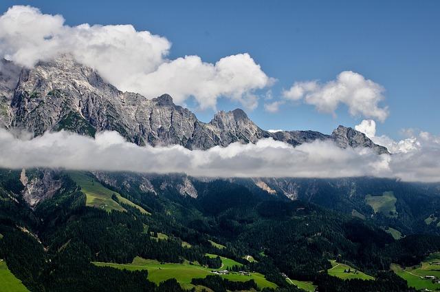 Mountain, Panoramic, Mountain Peak, Nature, Snow