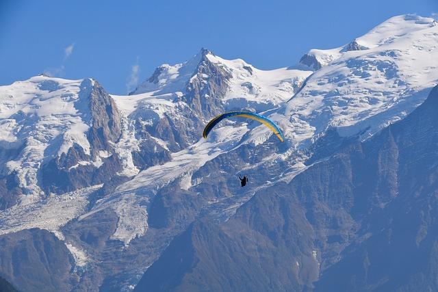 Mountain Scenery, Panoramic Views, Paragliding