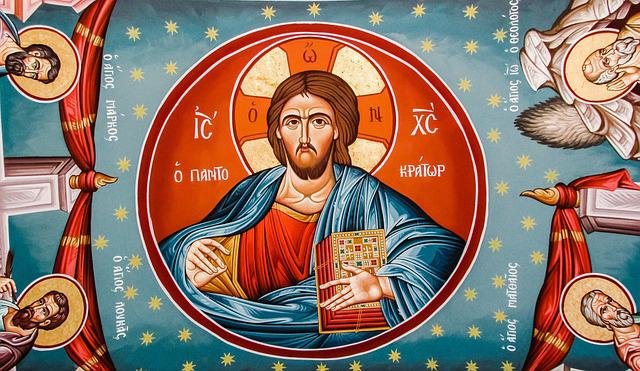 Pantocrator, Jesus Christ, Evangelists, Iconography