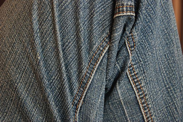 Jeans, Material, Pants, Clothes, Blue, Clothing