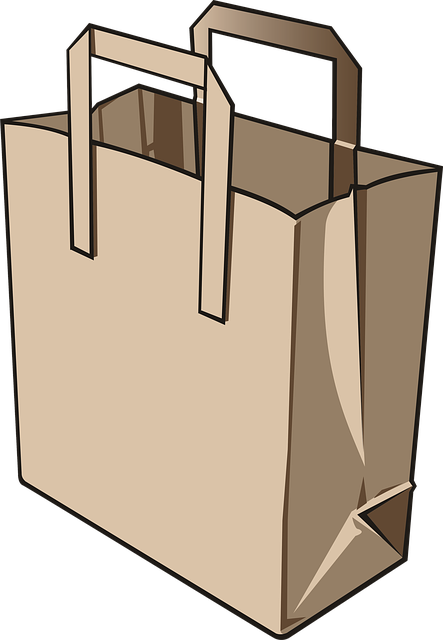 Bag, Paper Bag, Paper, Commissions, Food, Supermarket