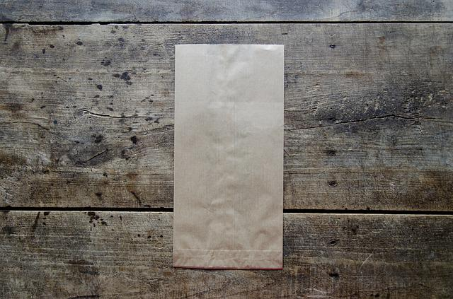 Brown Paper Bag, Bag, Paper, Brown, Paper Bag, Blank