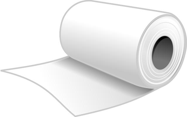 Toilet Paper, Bathroom Tissue, Toilet Tissue, Paper