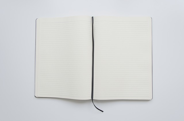 free photo paper book notebook open book open page white max pixel