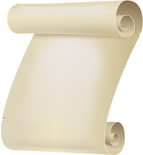 Certificate, Paper, Parchment, Roll, Scroll, Sheet
