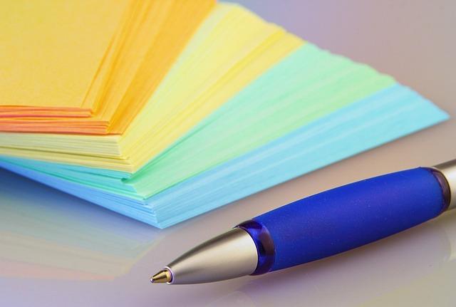Paper, Leave, Pen, Coolie, Post It, Office, List