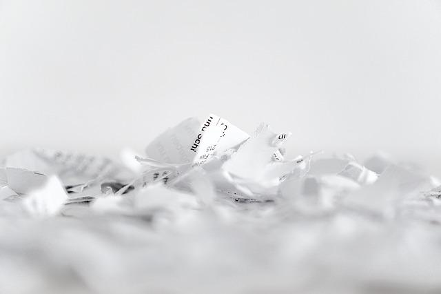 Paper, Shredder, Flakes, Recycling, Cut, Shredded Paper