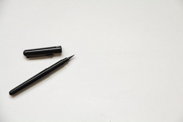 White, Paper, Texture, Background, Blank, Mockup, Pen
