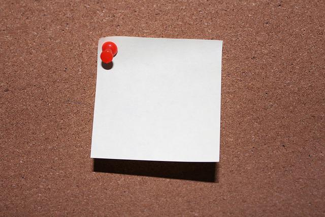 Note, Pin, List, Stickies, Paper, Memo, Info, Post It